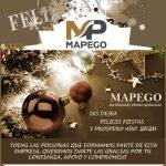 Felices fiestas y próspero año nuevo 2020 te desea Mapego